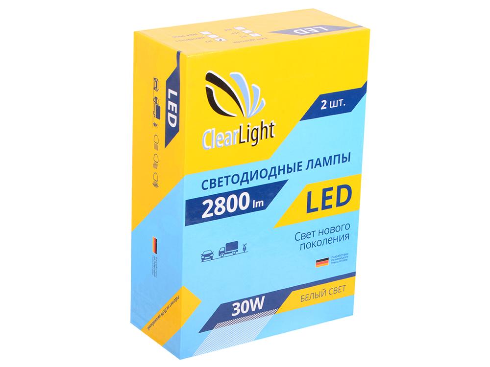 Лампа светодиодная LED  Clearlight H7 2800 lm ( 2 шт)