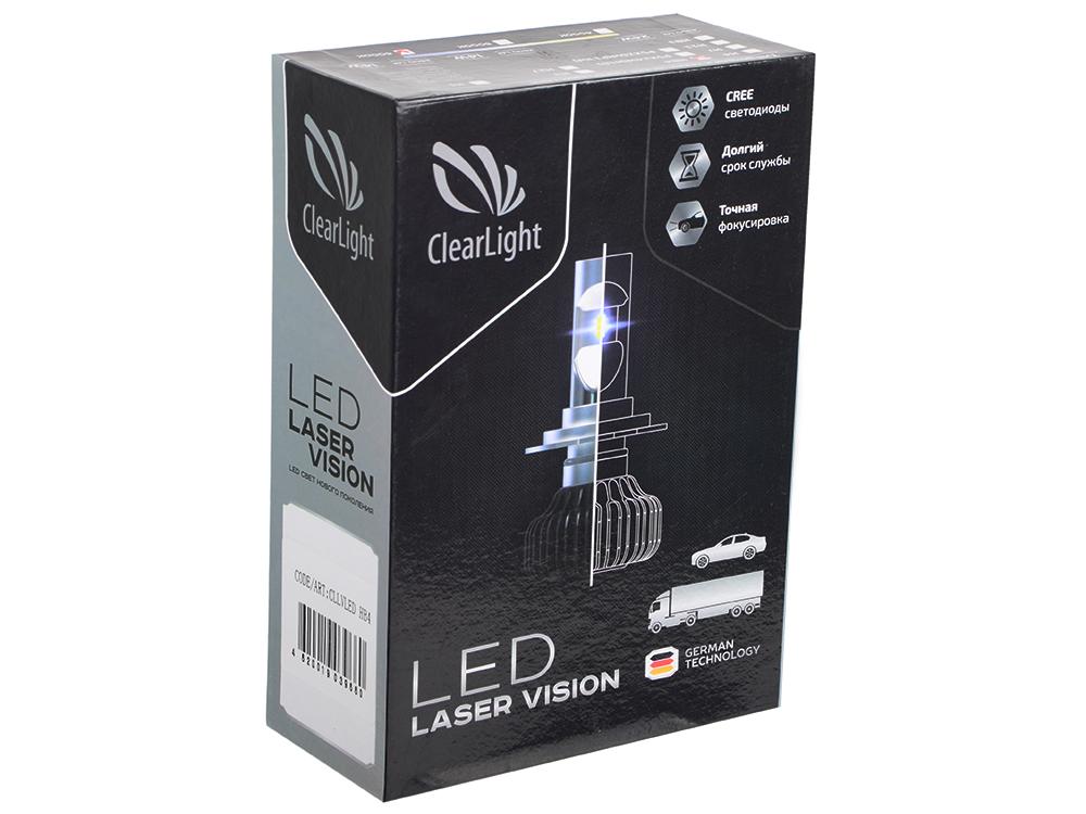 Комплект ламп светодиодных LED Clearlight Laser Vision HB4 4300 lm 24W (2 шт)