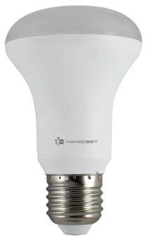 Светодиодная лампа НАНОСВЕТ E27/827 EcoLed L262 8Вт, R63, 680 лм, Е27, 2700К, Ra80 энергосберегающая лампа наносвет l251 e14 840 ecoled
