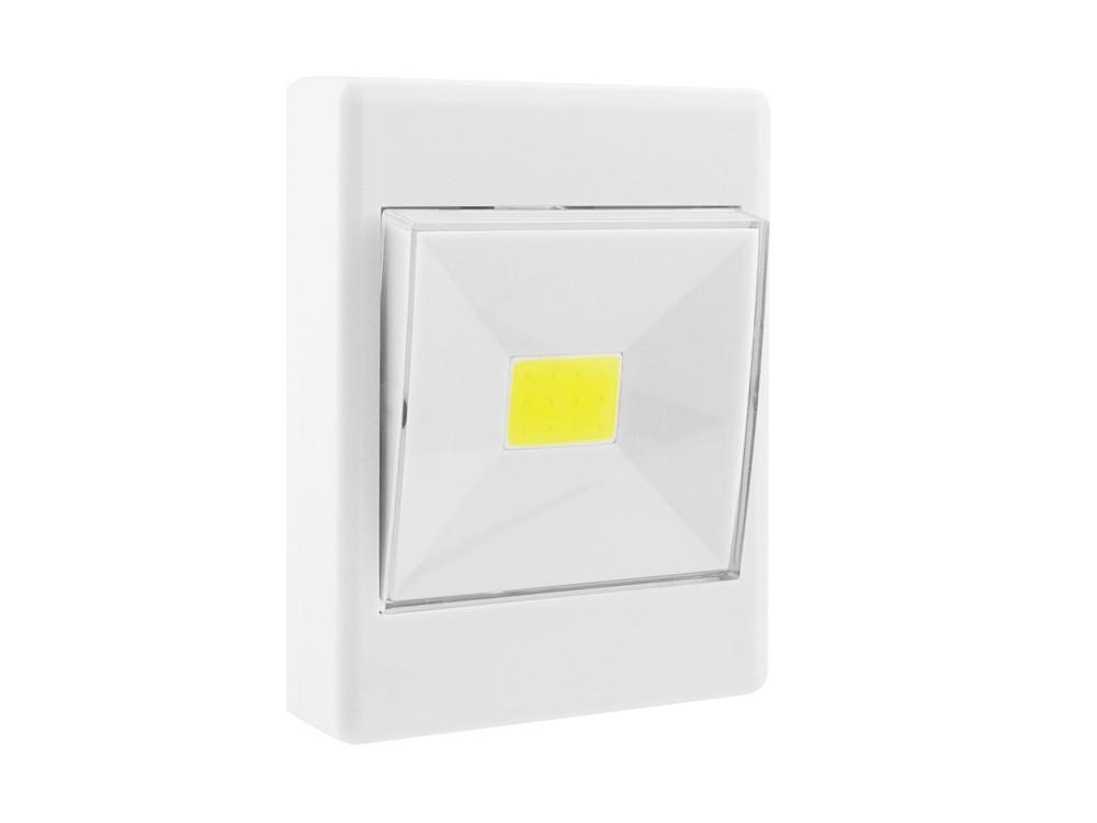 Светильник СТАРТ PL-1LED-COB белый Push-Light светильник садовый старт 1led лето колибри