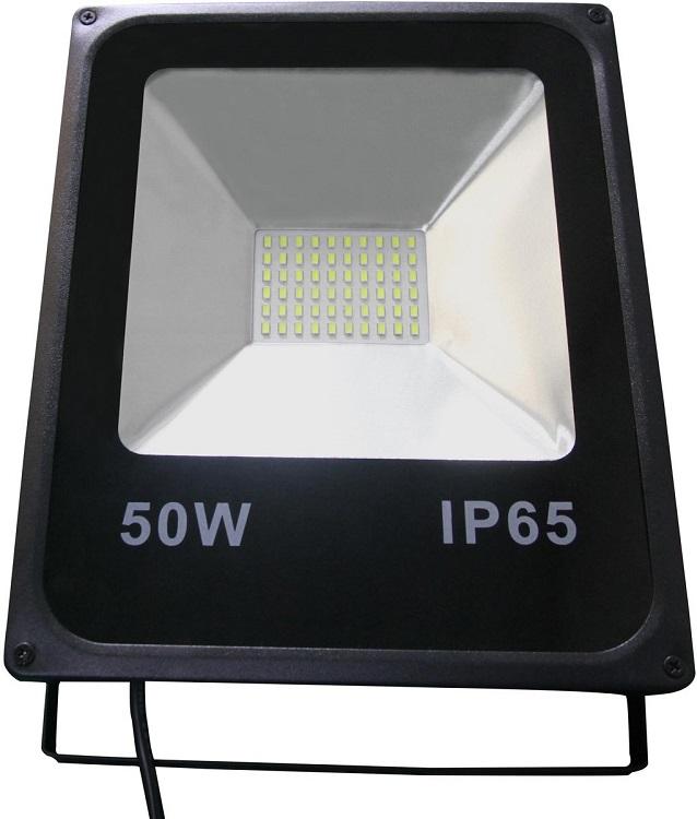 Прожектор светодиодный Falcon Eye FE-CF50LED Мощность 50Вт. Световой поток 3500Лм.Цветовая температура 6000-6500К. Входное напряжение 176~264В. Класс защиты IP