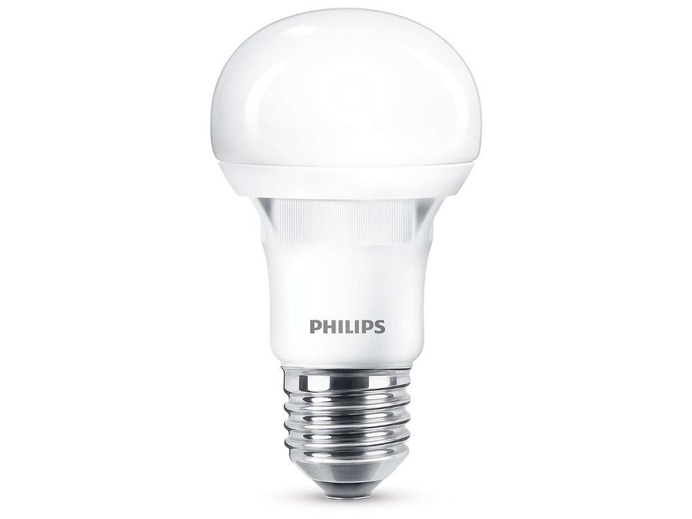Светодиодная лампа Philips ESS LEDBulb 5W E27 3000K 230V A60 цена