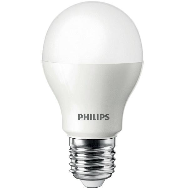Светодиодная лампа Philips ESS LEDBulb 5W E27 6500K 230V A60 [jingdong супермаркет] philips philips led лампа 2 5w большой винт e27 6500k дневного света белые одиночные палочки