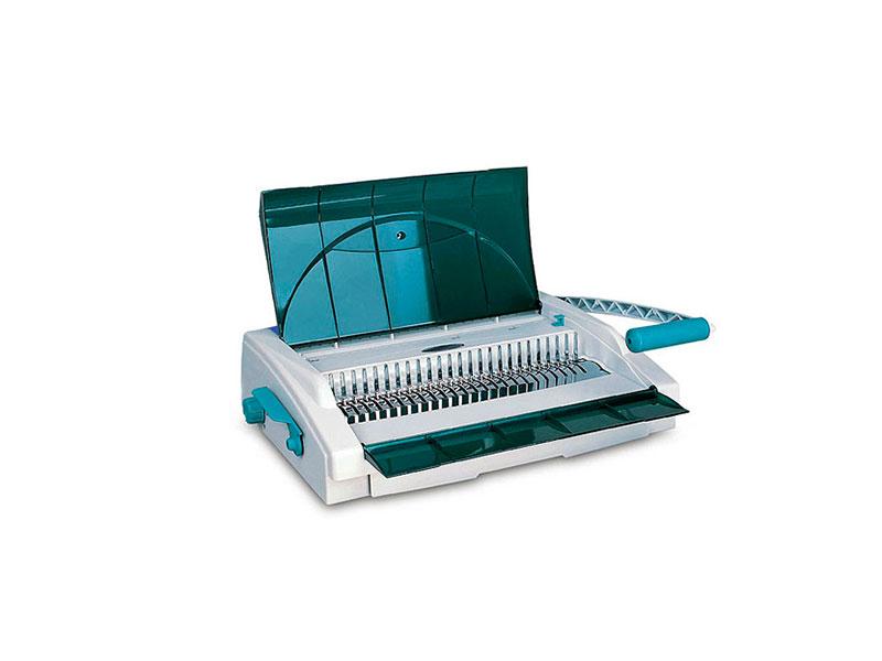 Gladwork Business CB-25D Брошюровщик на пластиковую пружину для средних и больших офисов, с вертикальной пробивкой. Перфорирует до