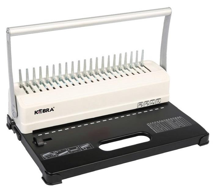 Брошюровщик Kobra Queenbind H500 на пластик. пружину, перф. 14л., сшивает до 500 л.