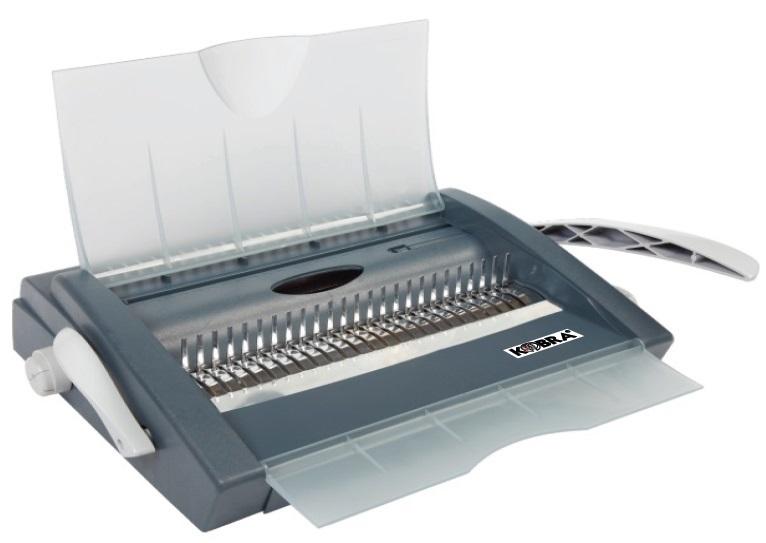 Брошюровщик Kobra Queenbind 500VD на пластик. пружину, перф. 29л., сшивает до 500 л.