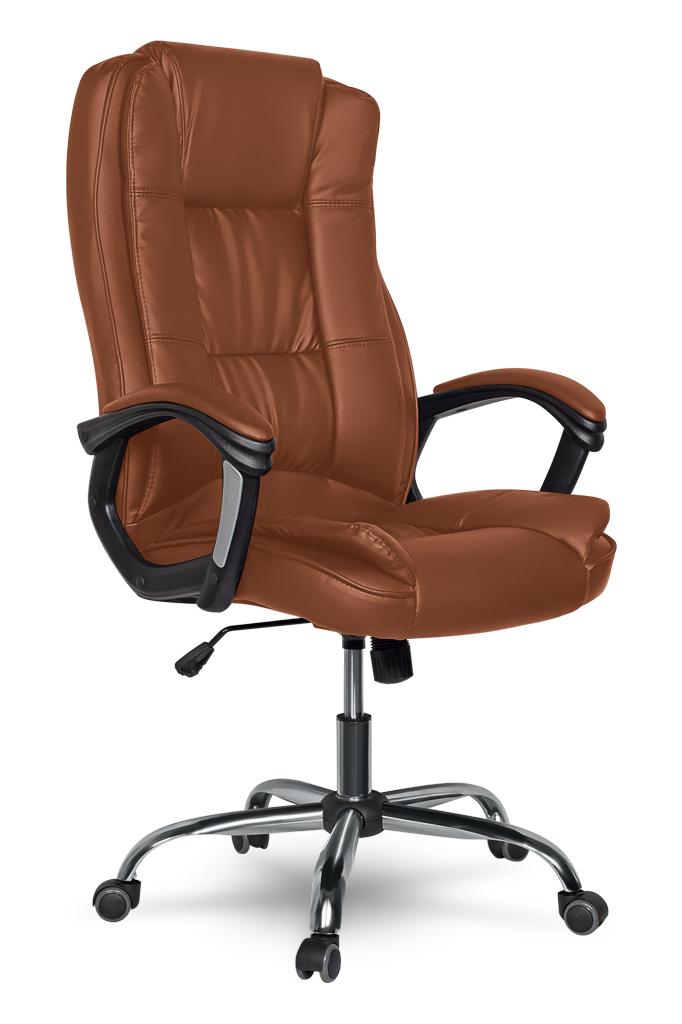 Кресло руководителя COLLEGE XH-2222 Коричневый цена