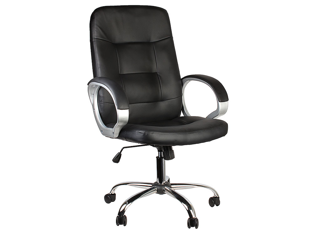 Кресло руководителя COLLEGE BX-3225-1 Чёрный кресло руководителя college bx 3001 1 brown