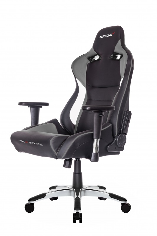Кресло для геймеров AKRacing PRO-X black/grey (AK-PROX-GY)