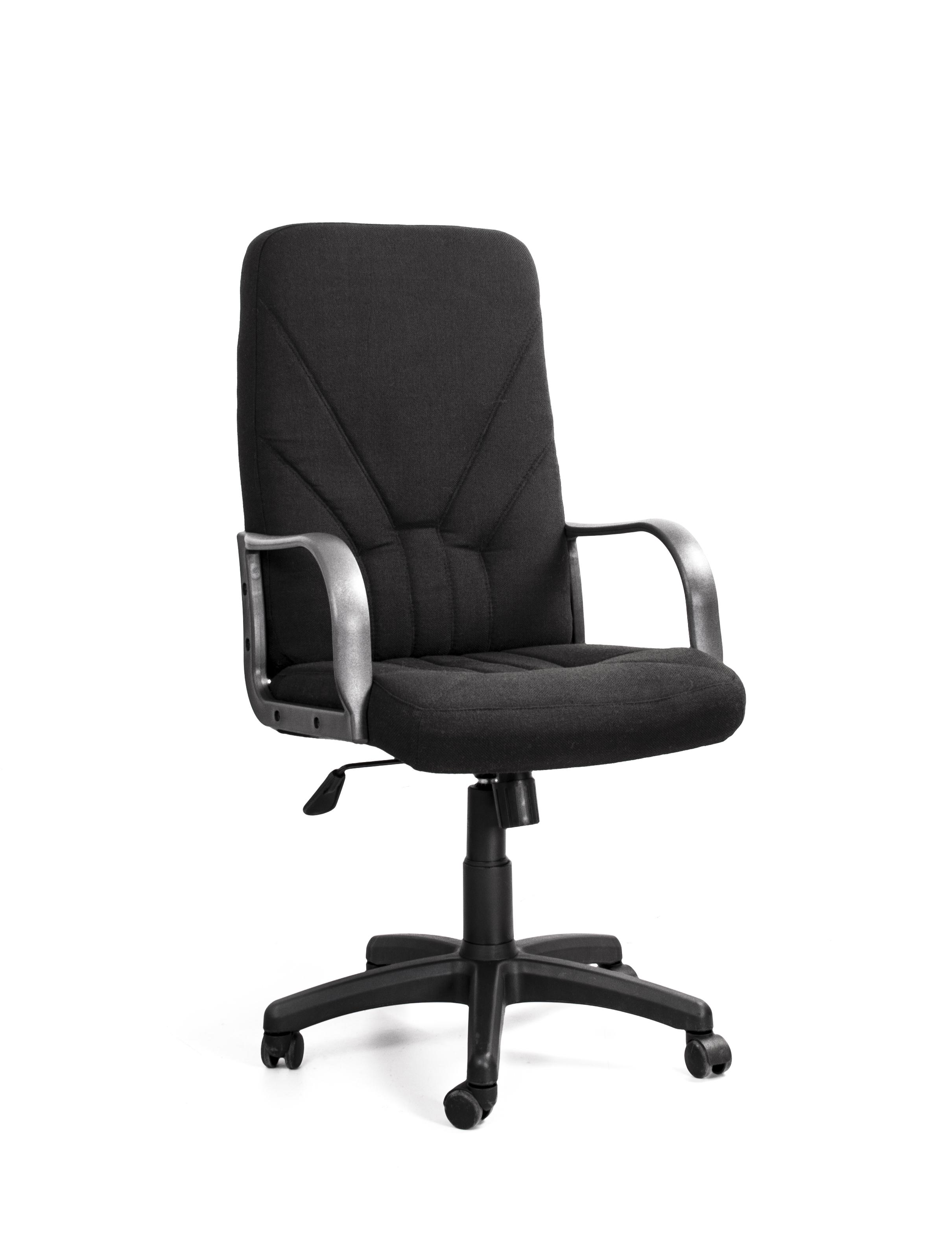 Кресло Recardo Leader (Чёрное, ткань)