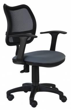 Кресло Buro CH-797AXSN/26-25 подлокотники T-образные спинка сетка черный сиденье серый 26-25 кресло для офиса бюрократ ch 797axsn 26 25 спинка сетка черный сиденье серый 26 25