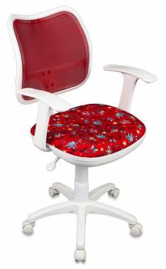 Кресло детское Бюрократ CH-W797/RD/ANCHOR-RD спинка сетка красный сиденье красный якоря бюрократ бюрократ ch 296nx moto rd красный мотоциклы