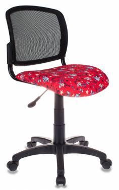 Кресло детское Бюрократ CH-296/ANCHOR-RD спинка сетка черный сиденье красный якоря кресло детское бюрократ ch w513axn anchor rd красный якоря anchor rd пластик белый