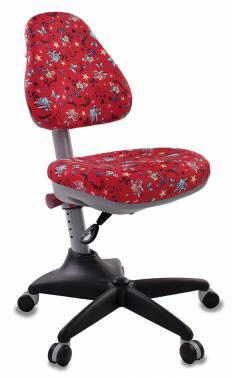 Кресло детское Бюрократ KD-2/R/ANCHOR-RD красный якоря
