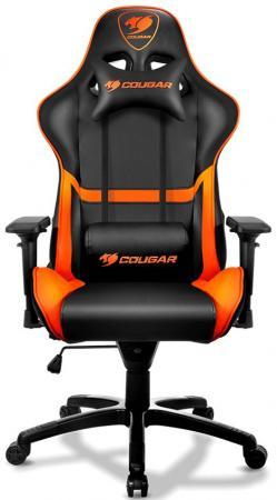 Кресло компьютерное игровое Cougar Armor черный гарнитура cougar phontum черный