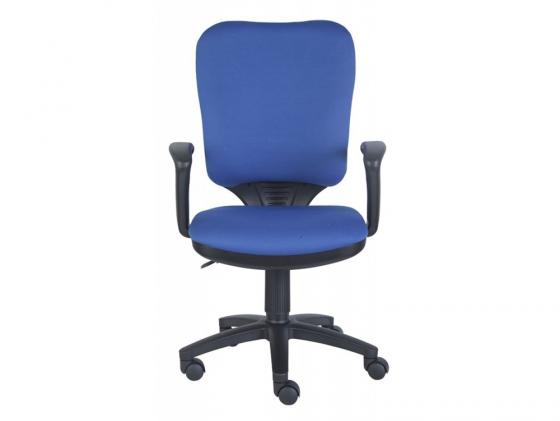 Кресло Buro CH-540AXSN/26-21 синий кресло бюрократ ch 540axsn low на колесиках ткань синий [ch 540axsn low 26 21]