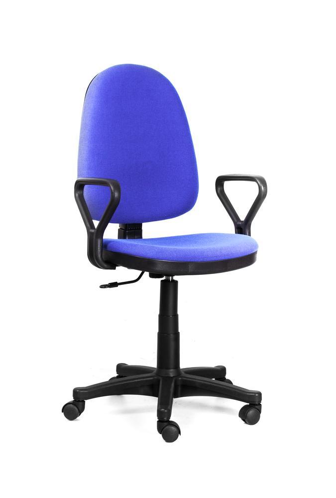 Кресло Recardo Assistant/Y подлокотник Y-образный (gtpPN/c6/Синий, ткань, 120кг, выс. спинки 565-620мм, ВШГ 995-1110*465*420мм, крест. пласт. 600мм smc type pneumatic solenoid valve sy3120 2lze c6