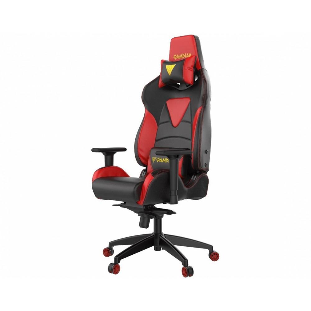 Кресло геймерское GAMDIAS HERCULES M1 L black-red компьютерное кресло gamdias hercules e3 br black red gm gche3br