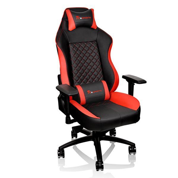 Кресло компьютерное игровое Thermaltake GT Comfort C500 черно-красный GC-GTC-BRLFDL-01 игровое компьютерное кресло oh is11 nb