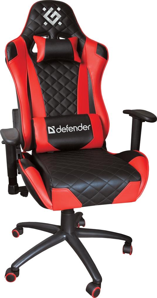 Игровое кресло Defender Dominator CM-362 Красный класс 4, 50мм, макс 150кг