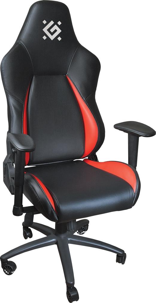 Игровое кресло Defender Commander CT-376 Красный класс 4, 60mm, макс 150кг