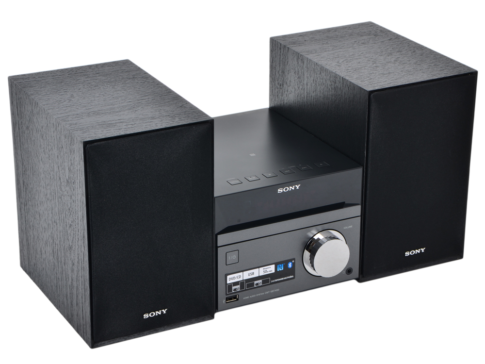 Музыкальный центр Sony CMT-SBT40D музыкальный центр sony gtk xb7b