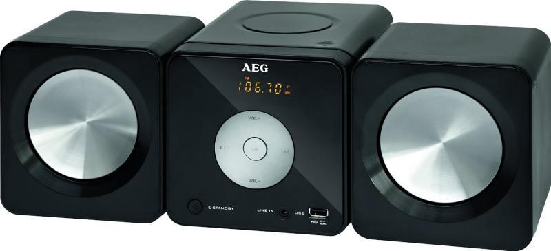 Микросистема AEG MC 4463 CD black