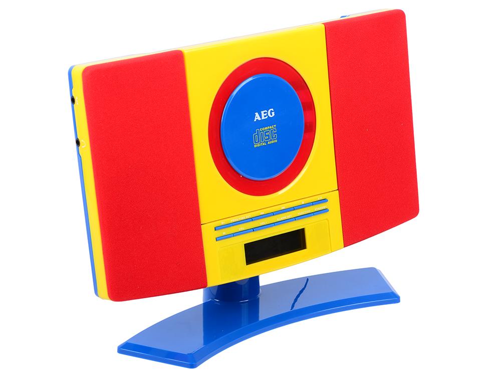 Микросистема AEG MC 4464 Kids Line вентилятор напольный aeg vl 5569 s lb 80 вт