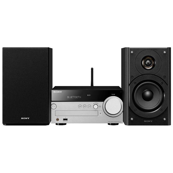 Микросистема Sony CMT-SX7 черный/серебристый цена и фото