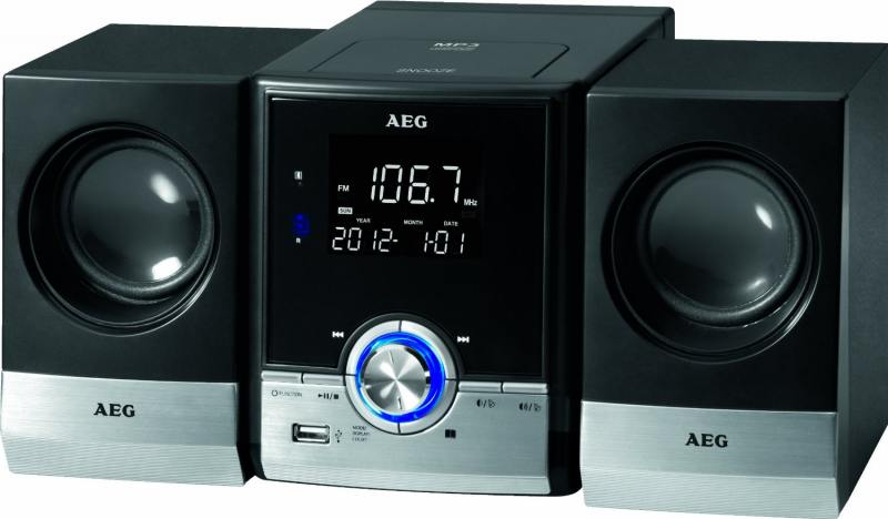 Микросистема AEG MC 4461 BT black от OLDI