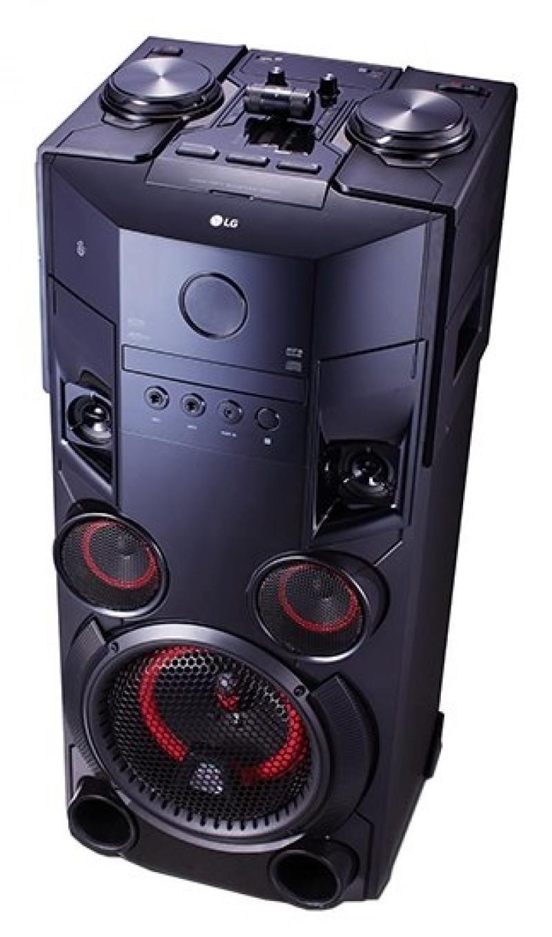 Минисистема LG OM6560 500Вт черный пылесос lg vc53202nhtr