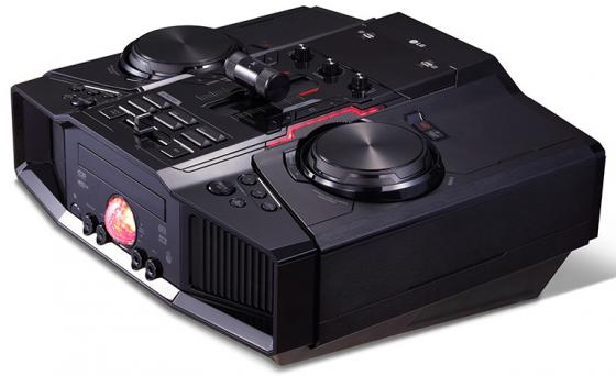 Минисистема LG CM9960 4800Вт черный пылесос lg vc53202nhtr
