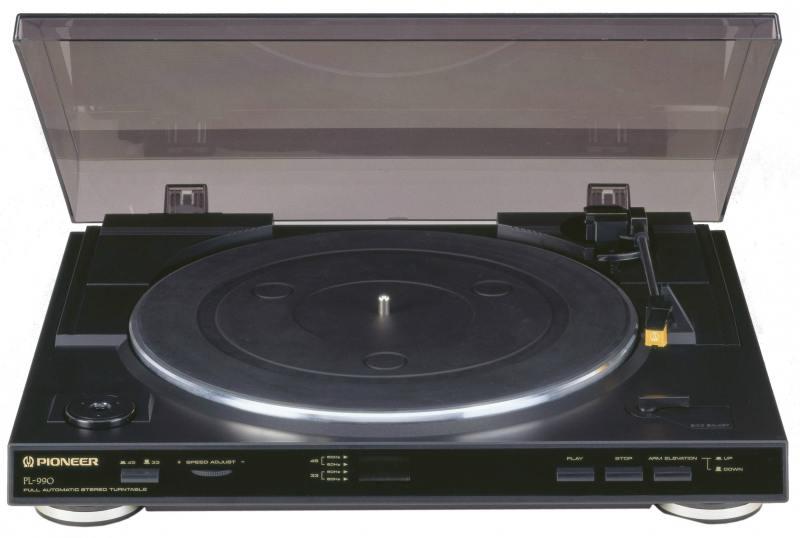Проигрыватель винила Pioneer PL-990 черный от OLDI