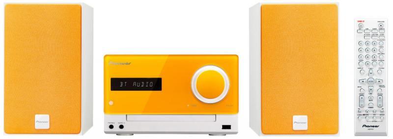 Микросистема Pioneer X-CM35-D 30Вт оранжевый pioneer x cm35 y