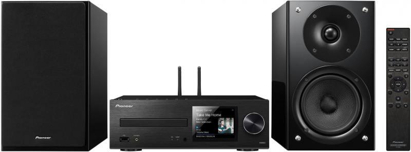 Микросистема Pioneer X-HM86D-B 130Вт черный cd проигрыватель pioneer xc hm86d b