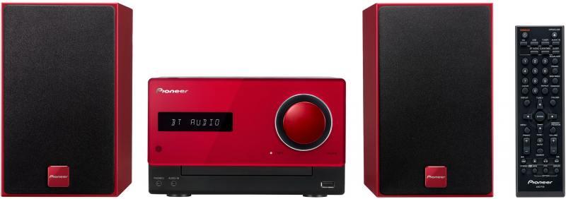 все цены на Микросистема Pioneer X-CM35-R 30Вт красный онлайн