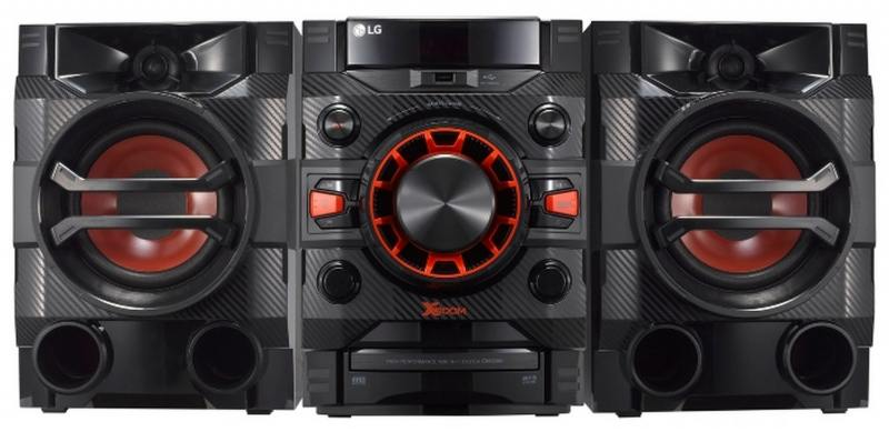 лучшая цена Микросистема LG CM4360 230Вт черный