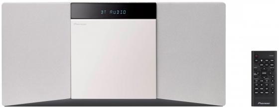 Микросистема Pioneer X-SMC02-W 20Вт белый микросистема pioneer x cm66d b