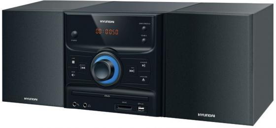 Микросистема Hyundai H-MS260 30Вт черный/серебристый