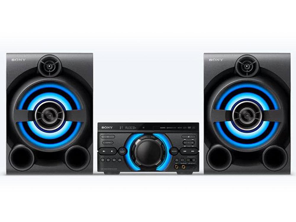Минисистема Sony MHC-M60D черный/CD/CDRW/DVD/DVDRW/FM/USB/BT