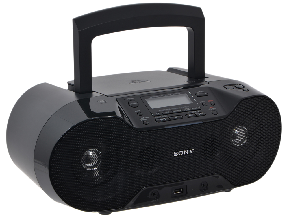 Аудиомагнитола Sony ZS-RS70BT