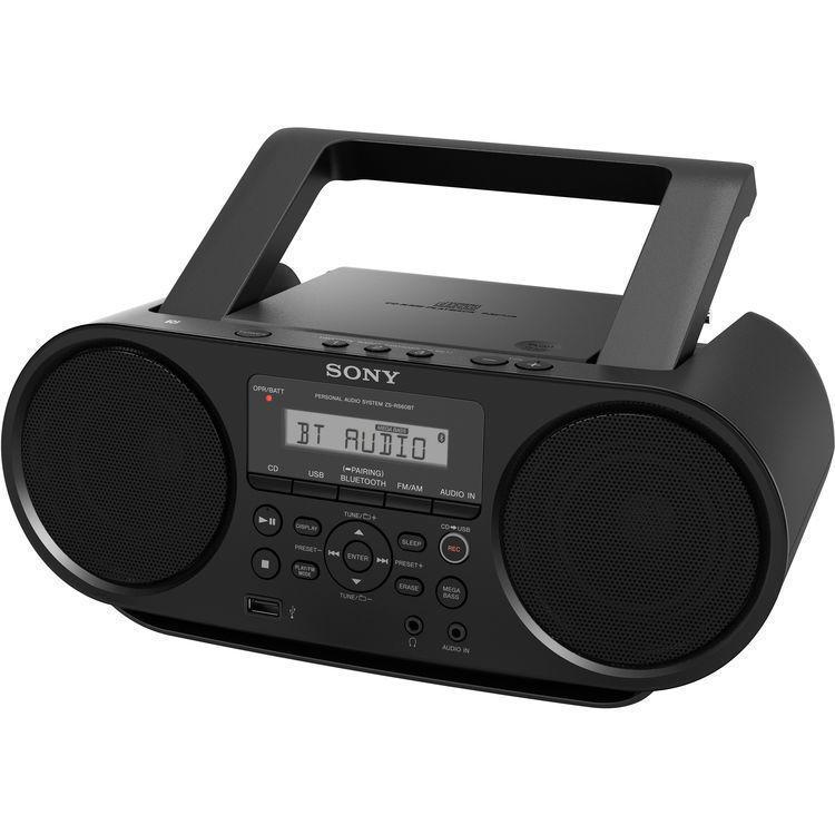 Аудиомагнитола Sony ZS-RS60BT CD-магнитола с возможностью беспроводного подключения, записи и воспроизведения через USB. Воспроизведение