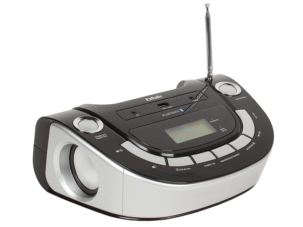 цена на Аудиомагнитола BBK BS07BT черный/серебро