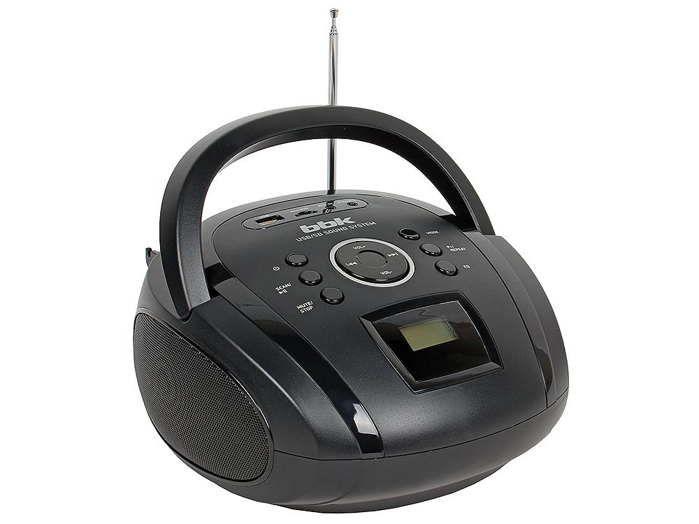 Аудиомагнитола BBK BS08BT черный bbk dvp773hd диск 500 песен черный