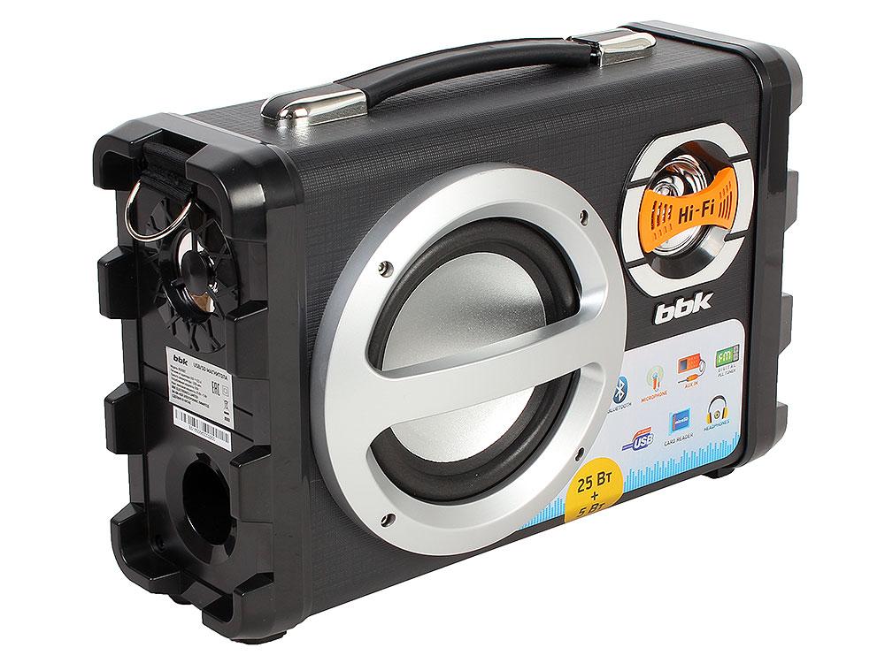 Аудиомагнитола BBK BS05BT черный