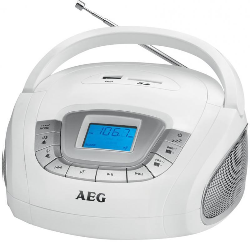 Магнитола AEG SR 4373 weiss