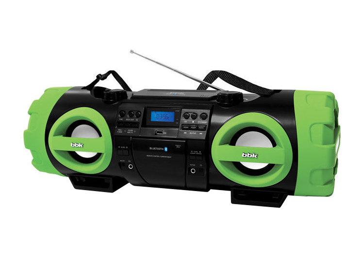 Магнитола BBK BX999BT черно-зеленый цена и фото
