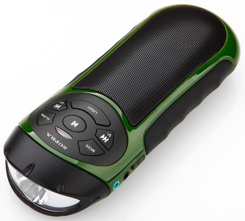 Портативная акустика Supra PAS-6277 зеленый