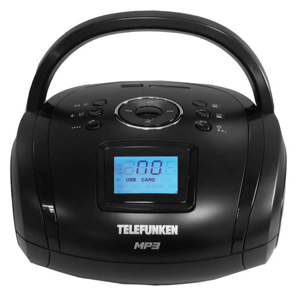 Магнитола Telefunken TF-SRP3449 черный 2016 new super golf detacher security tag detacher golf tag detacher eas tag remover magnetic intensity 12 000gs