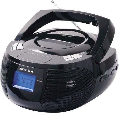 Магнитола Supra BB-33MUS черный магнитола supra bb 27mus черный